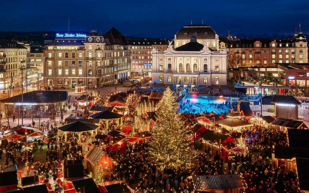 Weihnachtsdorf Zürich Bellevue