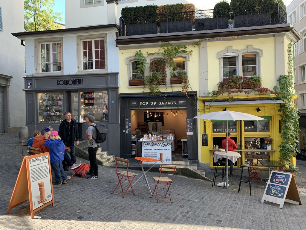Pop-Up Münstergasse Zürich